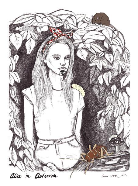 Alice in Aotearoa - Anna McKay