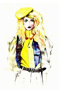 Allison Harvard Fashion Illustration